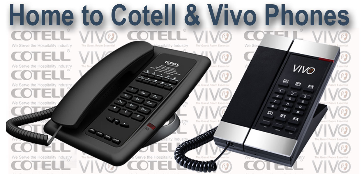 Cotell & Vivo Hotel Phones Hotel Technology International