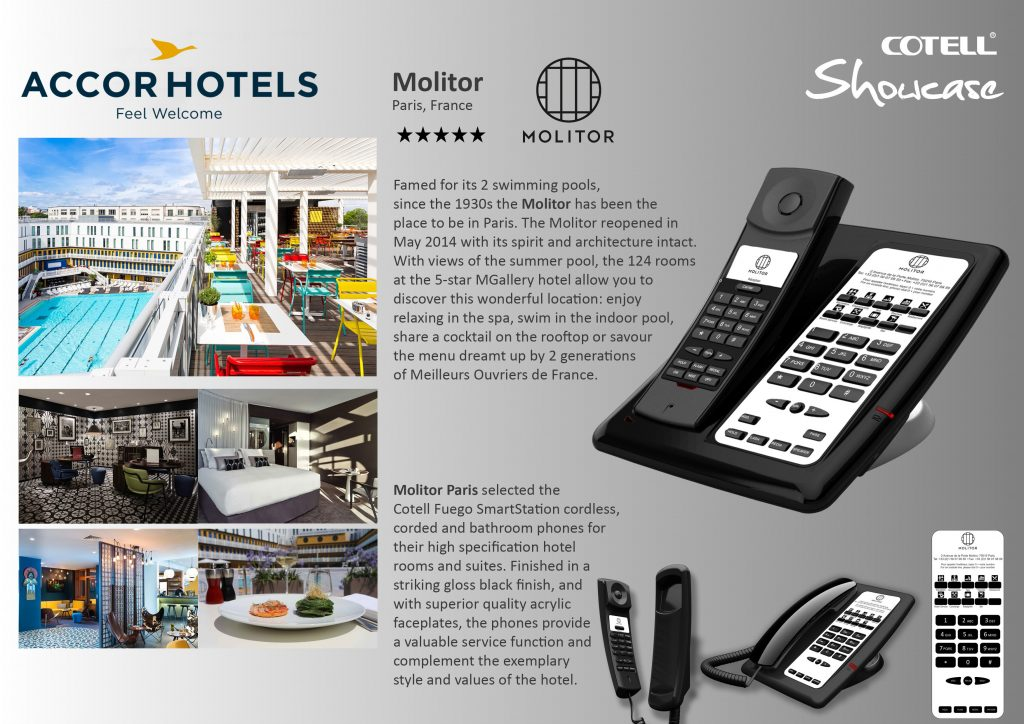 Accor Molitor Paris Hotel Hotel Technology International case study