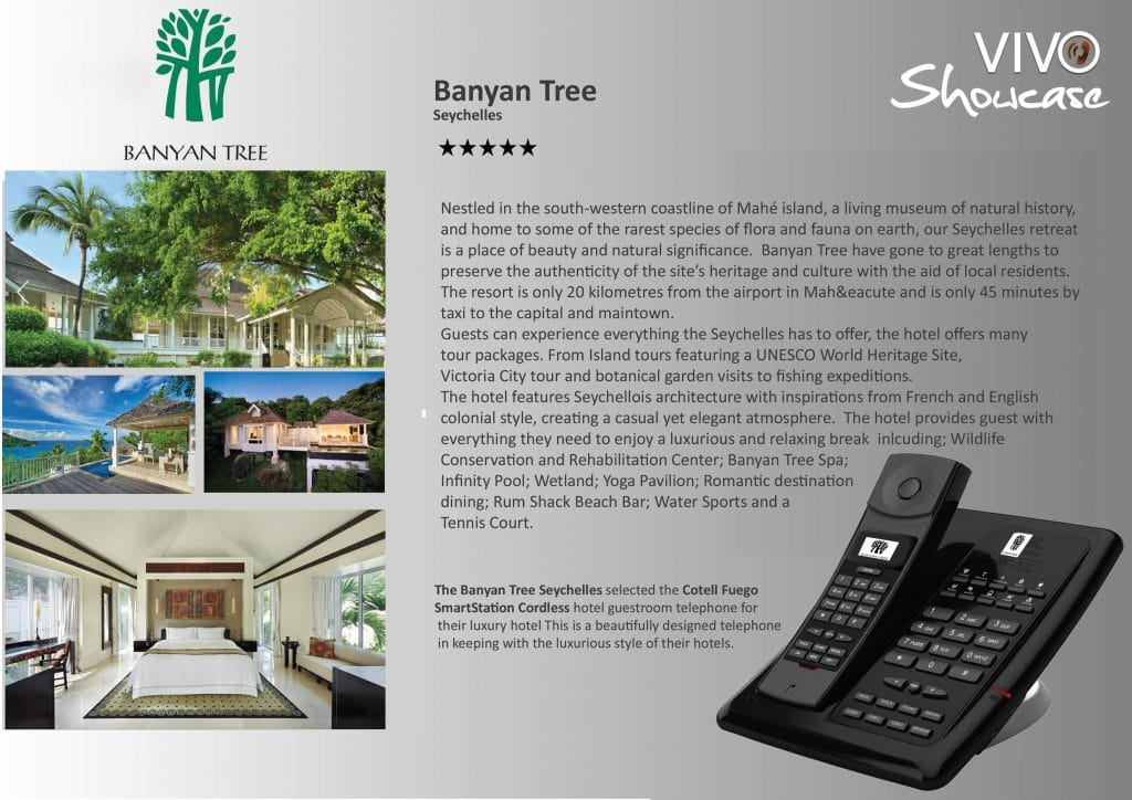 Banyan Tree hotel Hotel Technology International case study