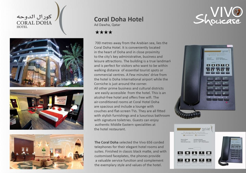 Coral Doha Hotel Hotel Technology International case study