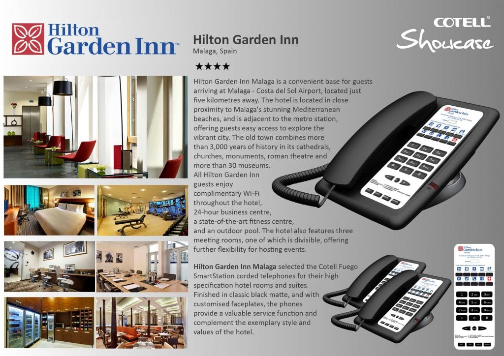 Hilton Garden Inn Hotel Hotel Technology International case study