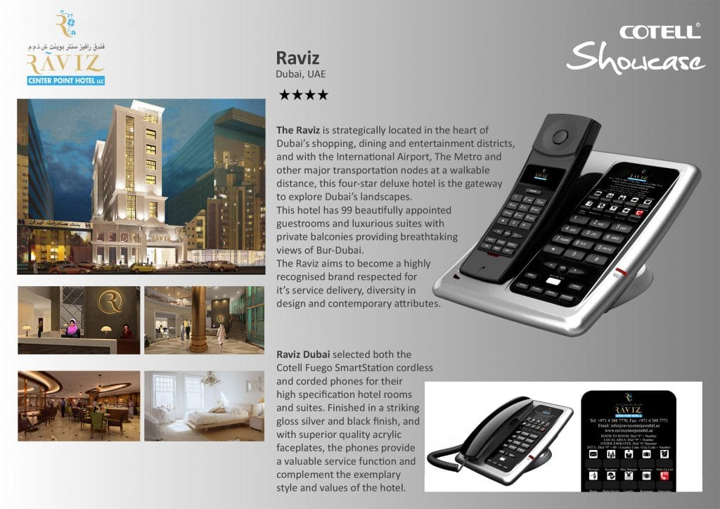 Raviz Dubai Hotel Hotel Technology International Case Study