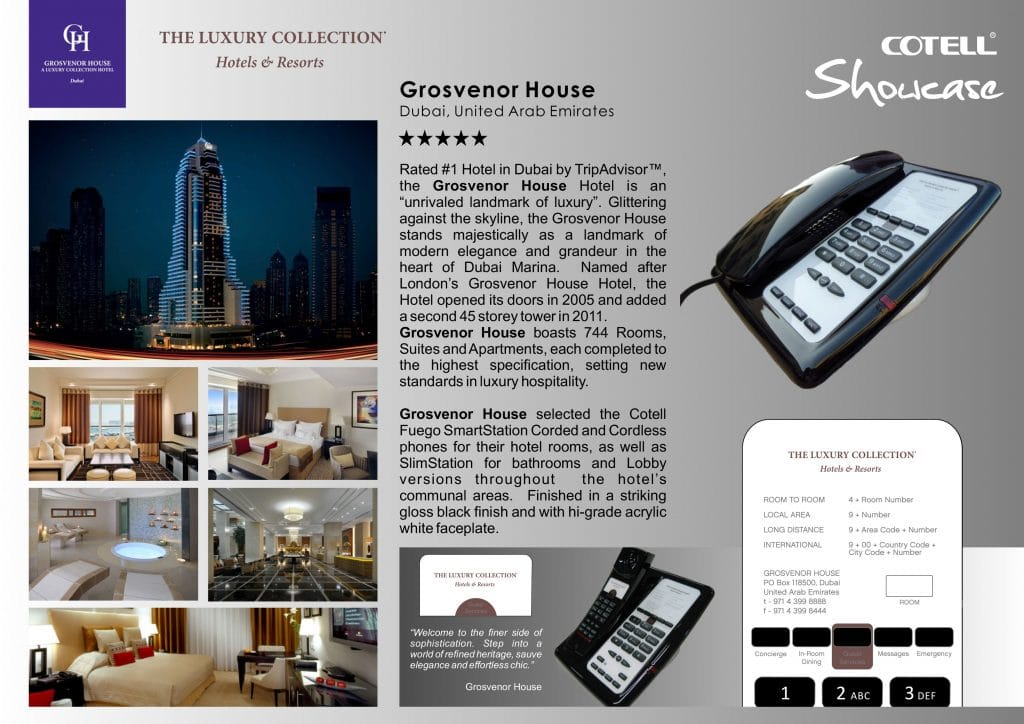 Grosvenor House Hotel Hotel Technology International Case Study