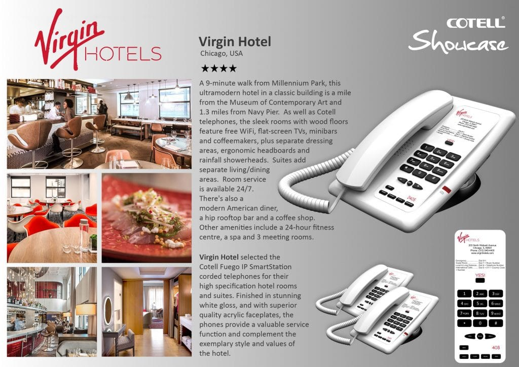 Virgin Hotels Hotel Technology International Case Study