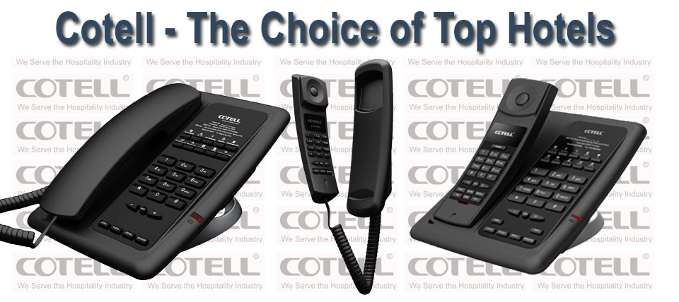 Hotel Technology International Harmony - Home Page Cotell Products