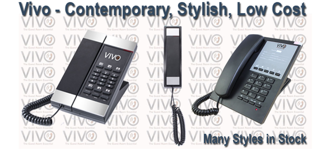 Hotel Technology International Vivo Hotel Phones