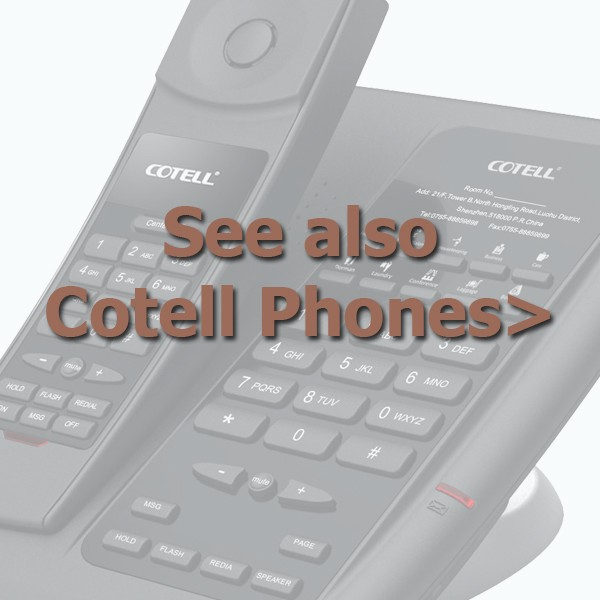 Cotell Phones Ad Hotel Tech