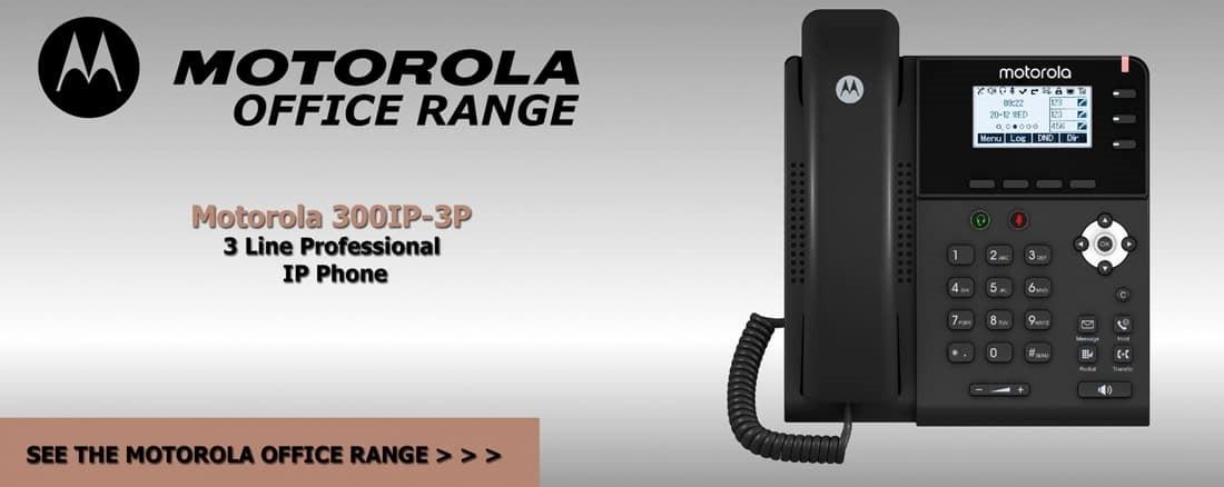 HTI Motorola 300IP3P Office Phone