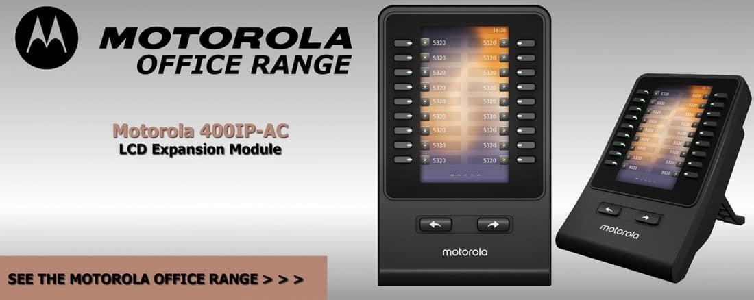 Motorola 400IP-AC Hotel Office Phone